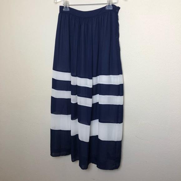 Anthropologie Dresses & Skirts - Anthropologie Sunday in Brooklyn Striped Skirt